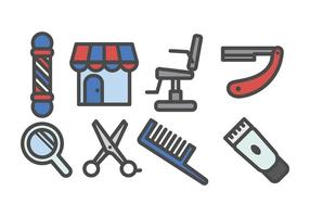 Barber Shop Icon Vector