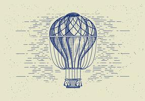 Free Vector Detailed Air Balloon