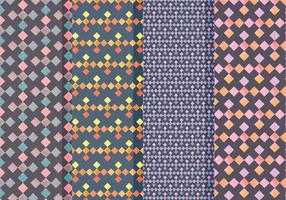 Padrões geométricos vetoriais
