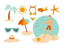 Free Beach Summer Vectors