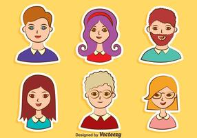 Nice People Avatar Collection Vector