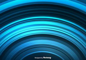 Vector Abstract Blue Rounded Lines