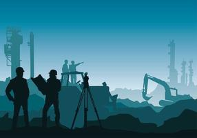 Surveyor Mine Free Vector