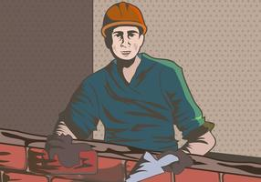 Mannelijke werknemer