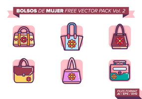 Bolsos de mujer kostenlos vektor pack vol. 2
