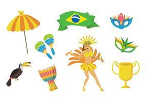 Vetor de samba grátis
