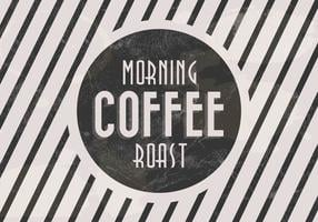 Morning Roast Coffee Vector