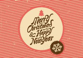 Christmas and New Year Vector Holiday Vector
