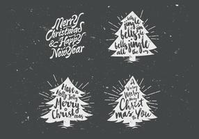 Chalkboard-christmas-tree-collection-vector