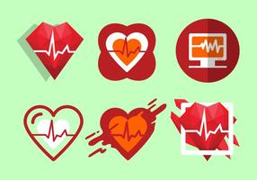 Free Heart Rate Vector Illustration