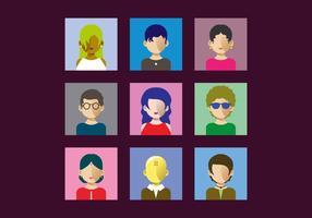 Kostenlose Personas Vektor-Illustration