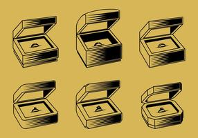 Ring Box Overzicht Gratis Vector