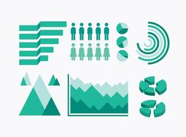 Gratis Infographic Elements Ikoner Vector