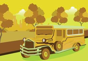 Illustration Jeepney gratuite