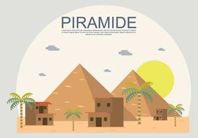 Illustration gratuite de Piramide
