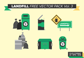 Vuilnisbak Gratis Vector Pack Vol. 3