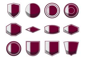 Free Qatar Flag Icon Vector