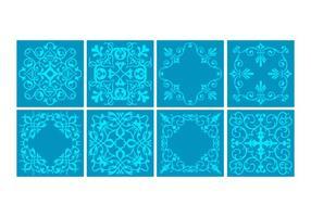 Vetor de azulejos portugueses grátis