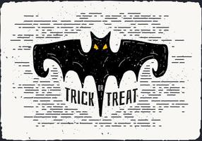 Gratis Halloween Bat Vector Illustration