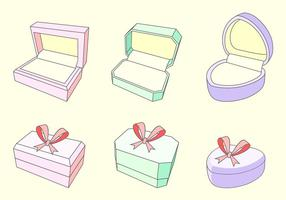 Ring Box Free Vector