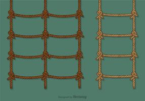 Free Rope Ladder Vector Set