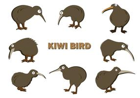 Gratis Kiwi Fågel Vector