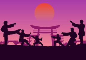Group Wushu Training