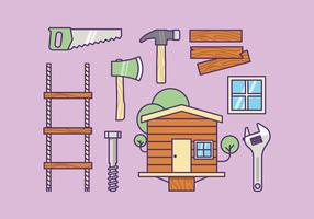 Gratis Treehouse Supply Kit Vector