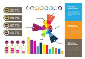 Element template infographic vector