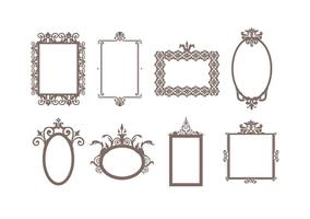 Gratis Decoratieve Frames Vector
