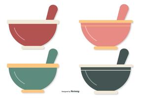 Flat Style Mixing Bowls