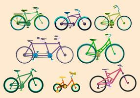 Freier Bicicleta Vektor