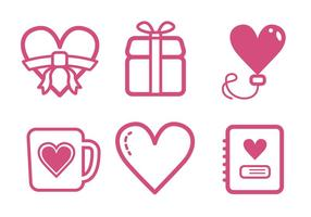 Valentine Icon-Set