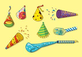 Free Party Blower Vector