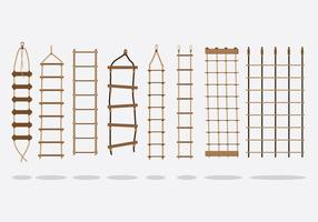 Free Rope Ladder Vector