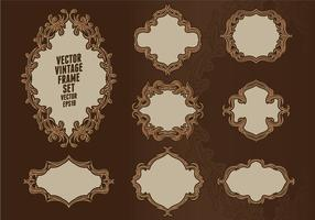 Baroque Frame Set vector