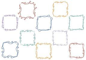 Free Floral Frames Vectors