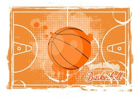 Basketball Texture Background vector