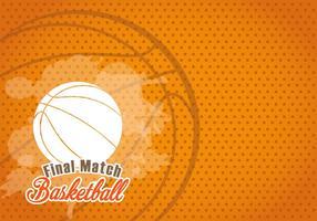 Fond de texture de basketball