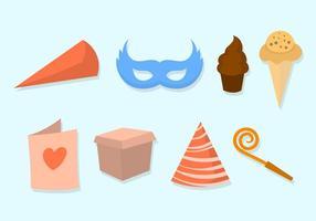 Iconos libres del vector del partido