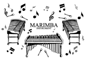 Marimba Instrument Vector