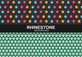 Rhinestone bakgrunds vektor