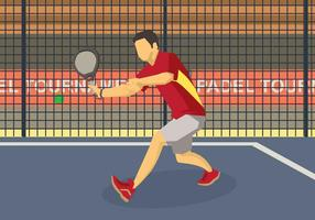Gratis Padel Illustration