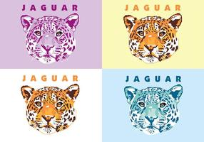 Jaguar - Vida animal - Popart Portrait