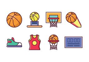 Gratis Basketbal Icon Set