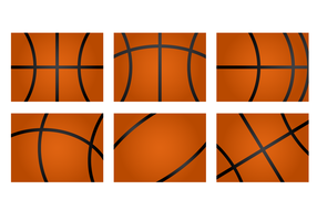 Free Basketball Texture Vector