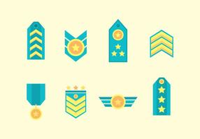 Gratis Military Badge Vector