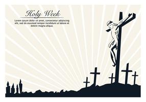 Day Of Holy Week vector