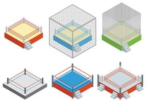 Gratis Wrestling Ring Ikoner Vector