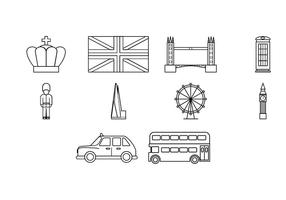 Gratis London Ikon Vector